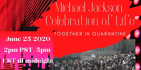 Michael Jackson: Celebration of Life biglietti
