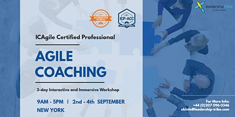 Agile Certified Coach (ICP-ACC) | New York - September 2020 tickets