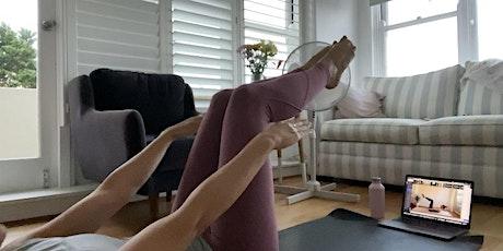 G-ILATES Online Pilates Class Tickets