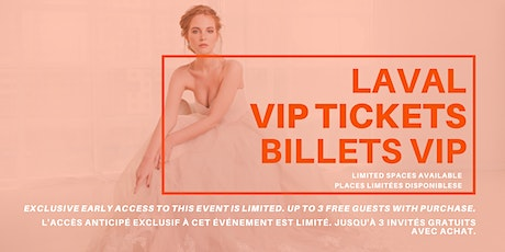 Opportunity Bridal VIP Early Access Laval Pop Up Wedding Dress Sale tickets