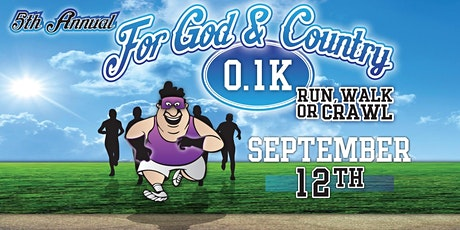 5th Annual For God & Country 0.1K tickets