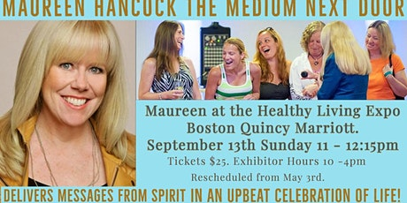 Maureen Hancock Healthy Living Expo  Quincy Marriott $25 includes EXPO tickets
