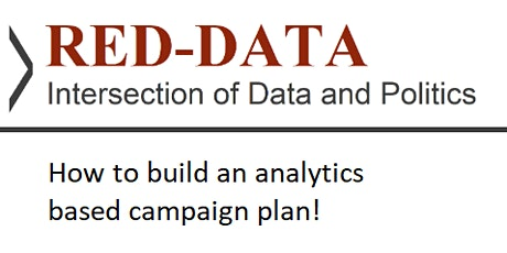 Red-Data Present's Political Campaign Analytics tickets