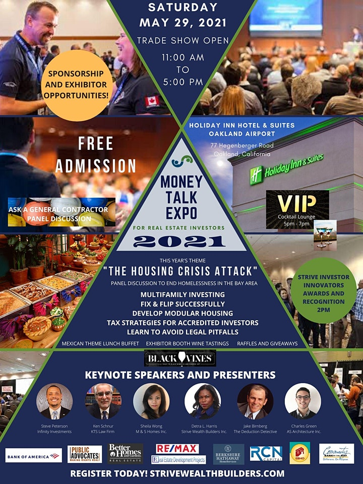 MONEY TALK EXPO 2021 For Real Estate Investors image