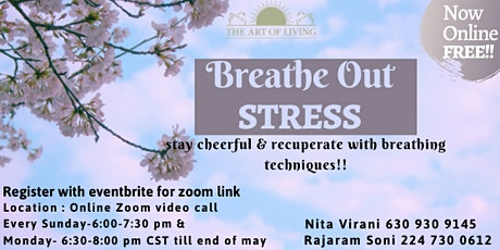 Breathe Out Stress - FREE WORKSHOP tickets