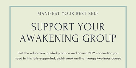 Support for your Awakening Therapy Group tickets