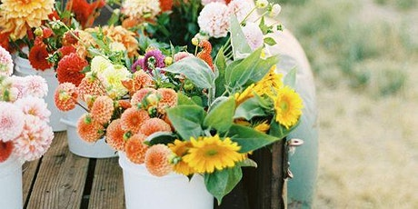 Evergreen - Private   Sunflowers & Sangria, a fall flower workshop tickets
