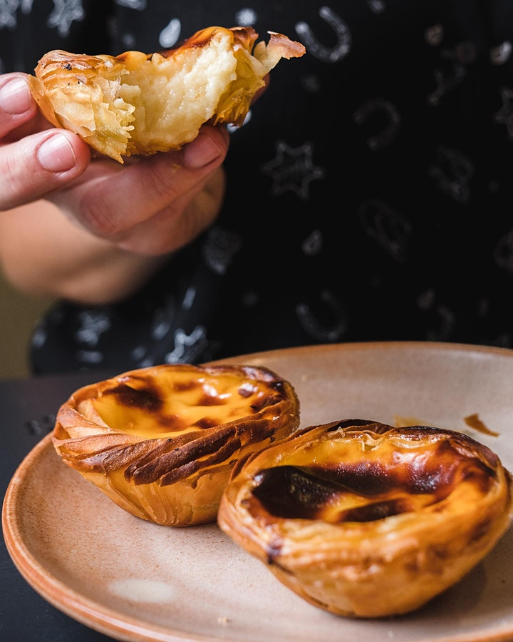 Pastel de Nata - Portuguese Custard Tarts Online Baking Class image