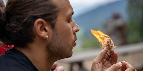 Feuer bohren wie in alten Zeiten Tickets