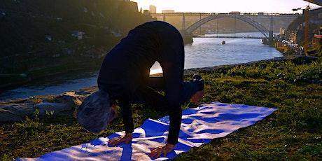 Yoga al Rio Duero y Comida Vegetariana bilhetes