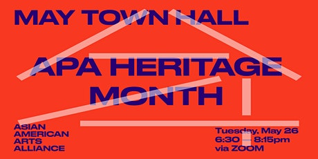 May Town Hall: APA Heritage Month tickets