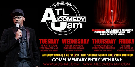 ATL Comedy Jam 2020 tickets