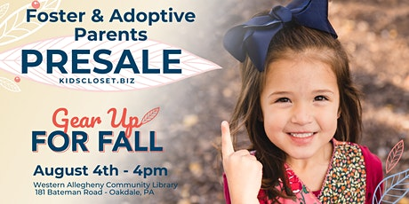 KCC SW Pittsburgh Foster & Adoptive Parents Presale tickets