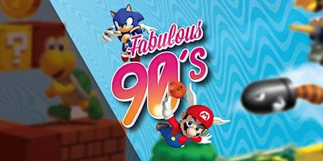 Fabulous 90's tickets
