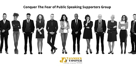 Conquer The Fear of Public Speaking Supporters Group Meeting tickets