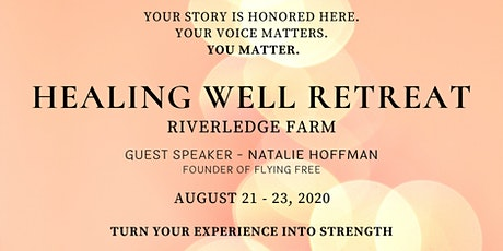 RESCHEDULED - Healing Well Retreat tickets
