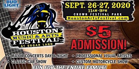 2020 Houston Music & Arts Festival tickets