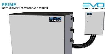 EVO Power - Installation training webinar tickets