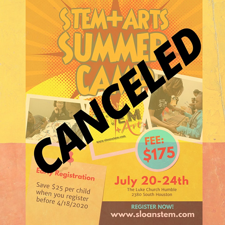 CANCELED DUE TO COVID-19 | SLOAN STEM+Arts 2020 Summer Camp image