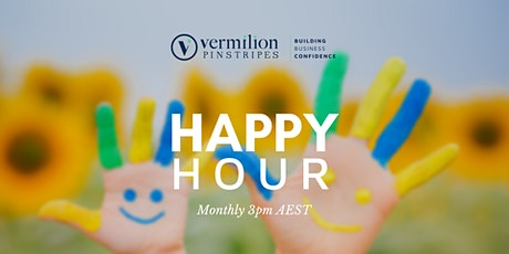 HAPPY HOUR: Connect with other businesses online and Brainstorm ideas tickets