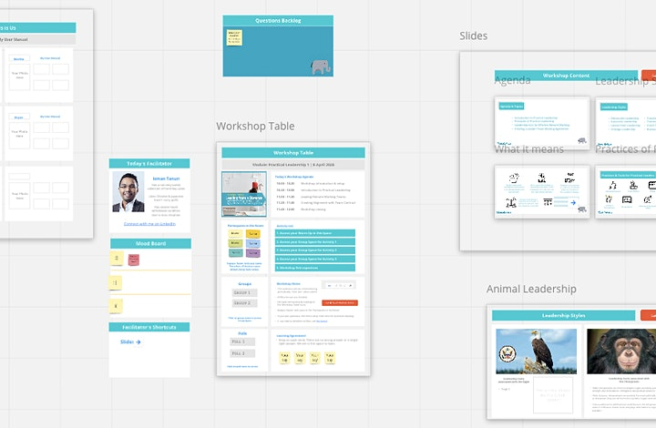 Create Engaging & Interactive Online Events and Training with Miro 2021 image