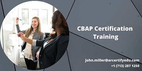 CBAP 3 Days Certification Training in Anderson, CA,USA tickets
