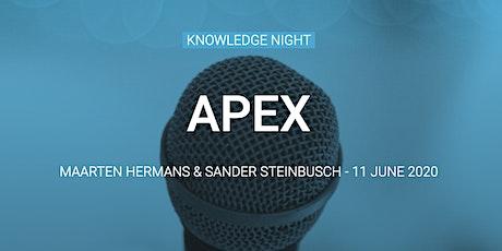 Knowledge Night: APEX tickets