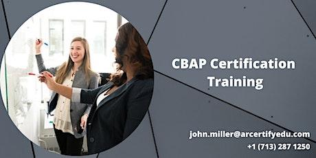 CBAP 3 Days Certification Training in Arleta, CA,USA tickets