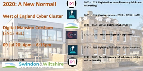 Post COVID-19 West of England Cyber Cluster #1: A vision for the region tickets