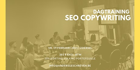 SEO copywriting workshop | 19/02/2021 | Zoersel tickets