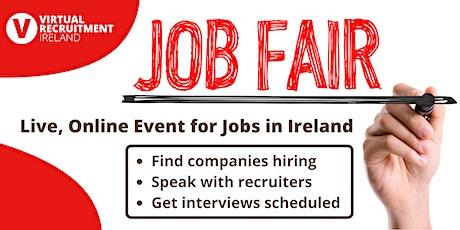 Virtual Recruitment Ireland - Online Jobs Fair tickets