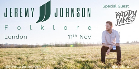Jeremy Johnson @ Folklore tickets