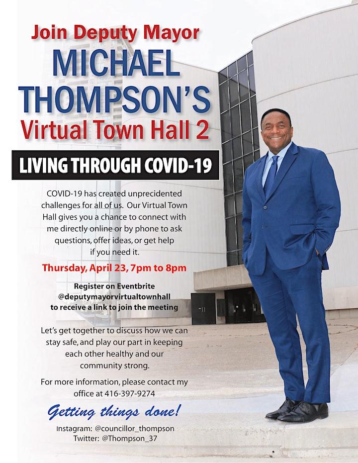 Deputy Mayor Virtual Town Hall image