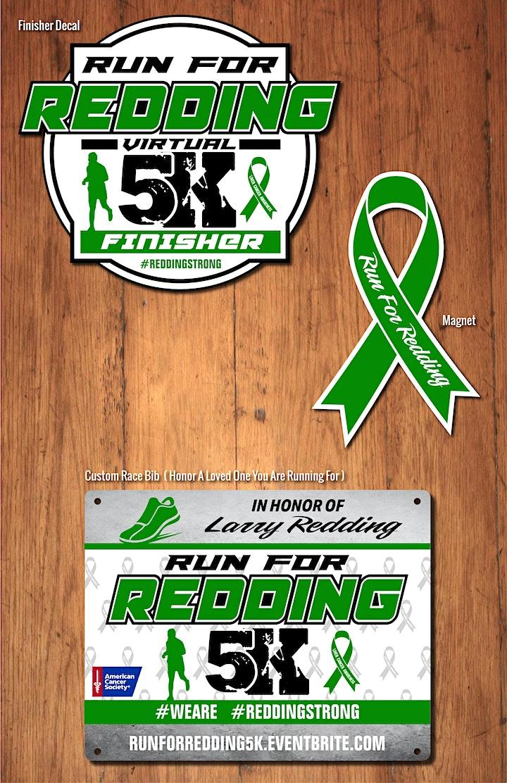 Run For Redding Virtual 5K image