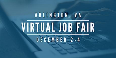 [Virtual] Arlington Job Fair - December 2-4 tickets