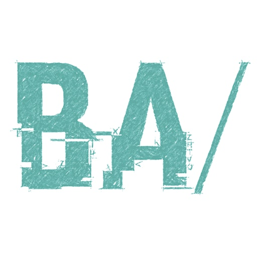 BA Slash (BA/) logo
