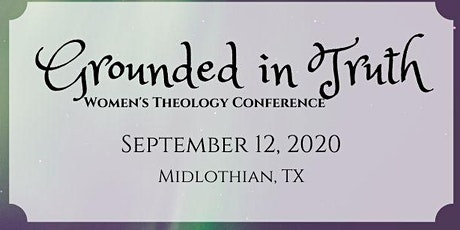 Grace of God - Women's Theology Conference tickets