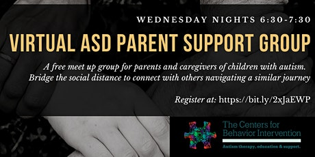 CBI ASD Virtual Parent and Caregiver Support Group tickets
