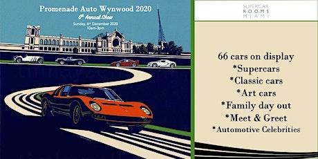 ART BASEL: FREE CAR SHOW 'PROMENADE AUTO 'WYNWOOD' 2020 tickets