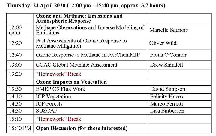 Task Force on Hemispheric Transport of Air Pollution 22-24 April & 30 April image