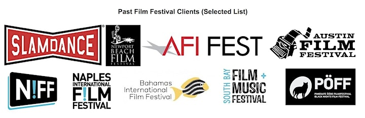 FILM FESTIVAL MASTERY:How To Get Into Top-Tier Fests & Advance Your Career! image