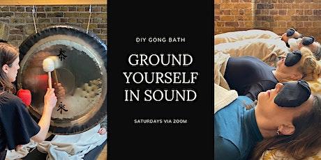 Virtual Gong Bath tickets