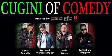Cugini Of Comedy tickets