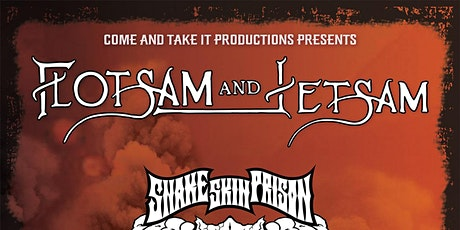 FLOTSAM AND JETSAM tickets