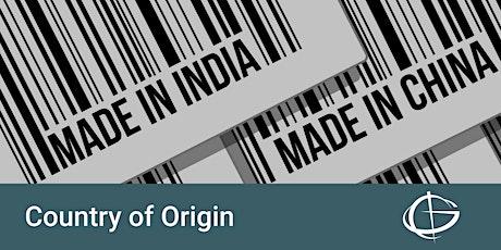 Country of Origin Webinar tickets