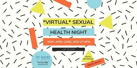 Emory Hope Clinic: 4th Wednesday's Sexual Health Night (Live on Facebook) tickets