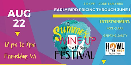 Summer Wine Up and Craft Beer Festival tickets