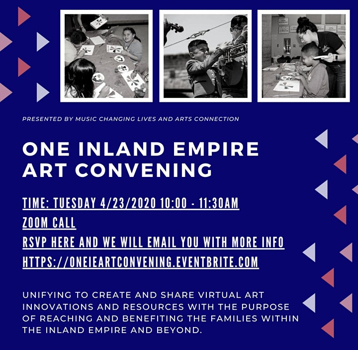 One Inland Empire Art Convening image