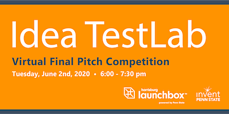 Idea TestLab Virtual Final Pitch Competition tickets