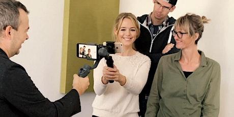 Tolle Videos mit dem Smartpone erstellen Tickets
